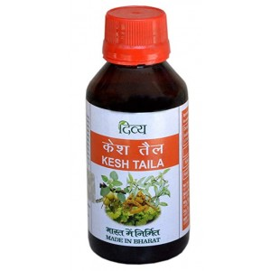 Divya Kesh Taila Hair (Baldness,Hair Fall,Greying of Hair etc) Oil (FREE SHIPPING)
