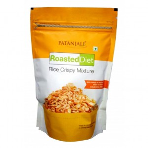 Patanjali ROASTED DIET-RICE CRISPY MIXTURE (FREE SHIPPING)