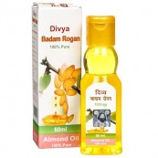 Divya Badam Rogan 60 ml (Almond Oil for Tension Relieves and Strengthens brain power)(FREE SHIPPING)
