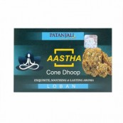 Patanjali Aastha Dhoop(Dry Cones)(LOBAN)Pack of 2 (FREE SHIPPING)