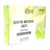 Divya Medha Vati Extra Power Tablets(Depression,Anxiety,Memory Weakness,Headache,Sleeplessness,Irritable Temprament, etc)(FREE SHIPPING)
