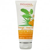 Patanjali Orange Aloevera Face Wash(FREE SHIPPING)