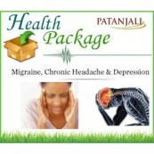 Patanjali Package For MIGRAINE, CHRONIC HEADACHE & DEPRESSION (FREE SHIPPING)